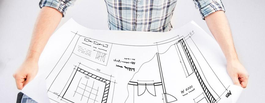 Drawing plans design
