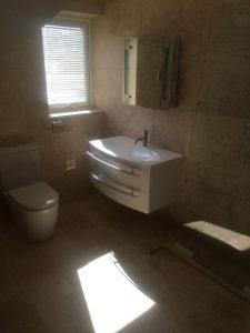 Corfe Mullen Loft conversion natural stone wet room